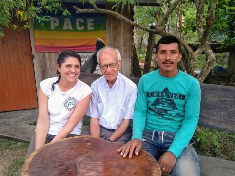 Nath con Mello y el padre_blog