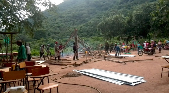 La Comunidad de Pitalito desde su nuevo desplazamiento, resiste