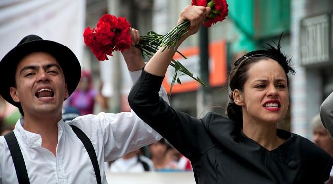 Represión de la protesta en Colombia