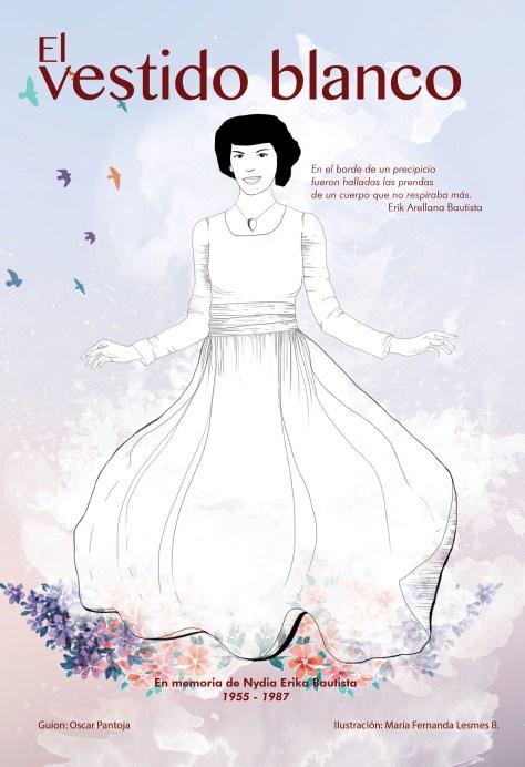 El vestido blanco comic