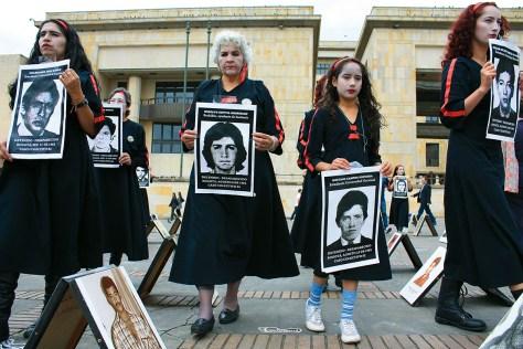 conmemoracion semana desapricion forzada en 2009