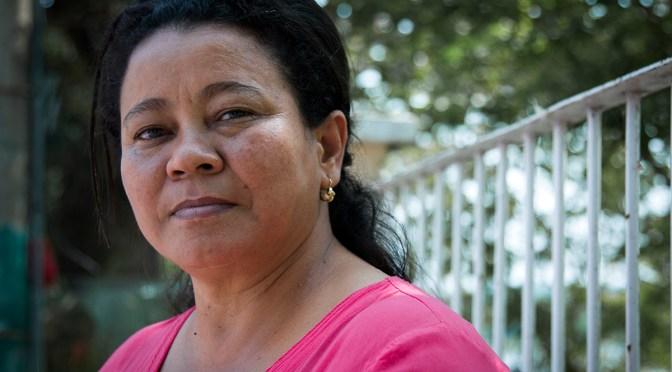 """""""En la vida de un defensor hay un porqué seguir, un porqué luchar y un porqué vivir"""": Irene Ramirez"""