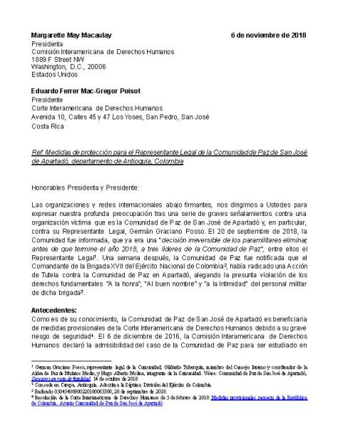 Carta San José de Apartadó con Firmas_Page_1