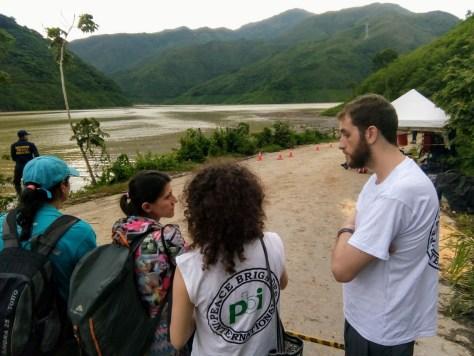 Mayo 2018, acompañamiento con ríos Vivos en Ituango
