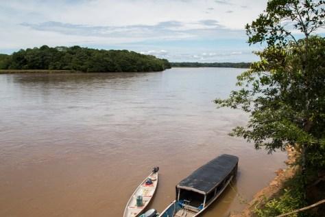 Rio Putumayo desde Bajo Cuembi