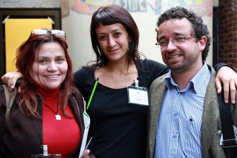 _Claudia Julieta, Beronika y Jorge Molano
