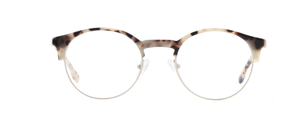 Havana bril in het tortoise goud