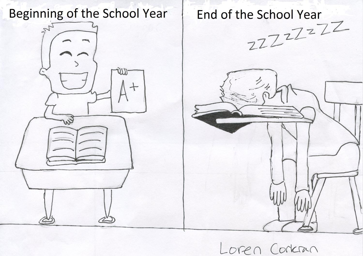 Beginning of School Year…End of School Year