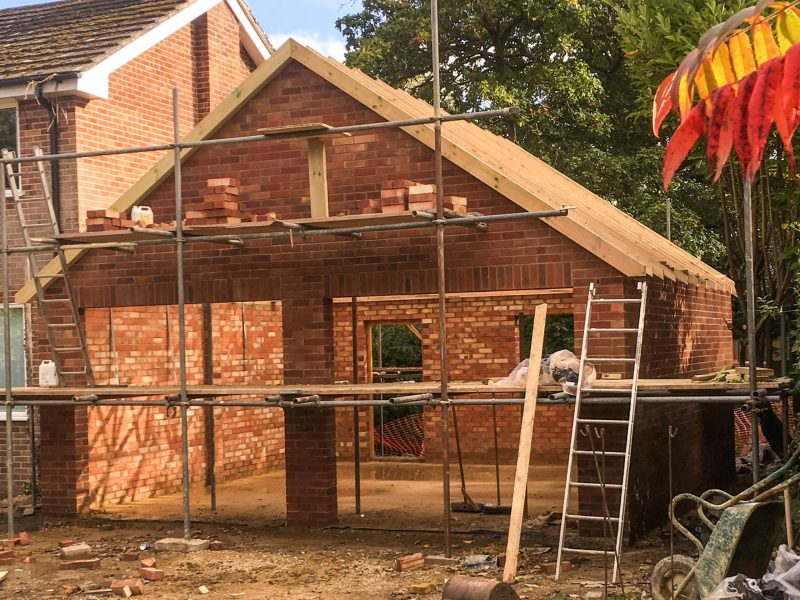 Double Garage by Builders in Newbury