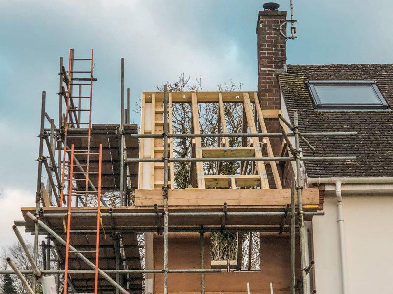 Hand-Cut-Roof by Builders in Newbury