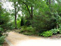 July Foliage Along Perennial Allée-Duke Gardens
