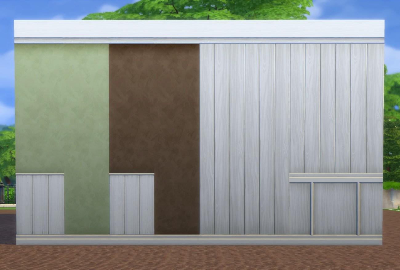 White Paneling + Paint Walls  Pbox