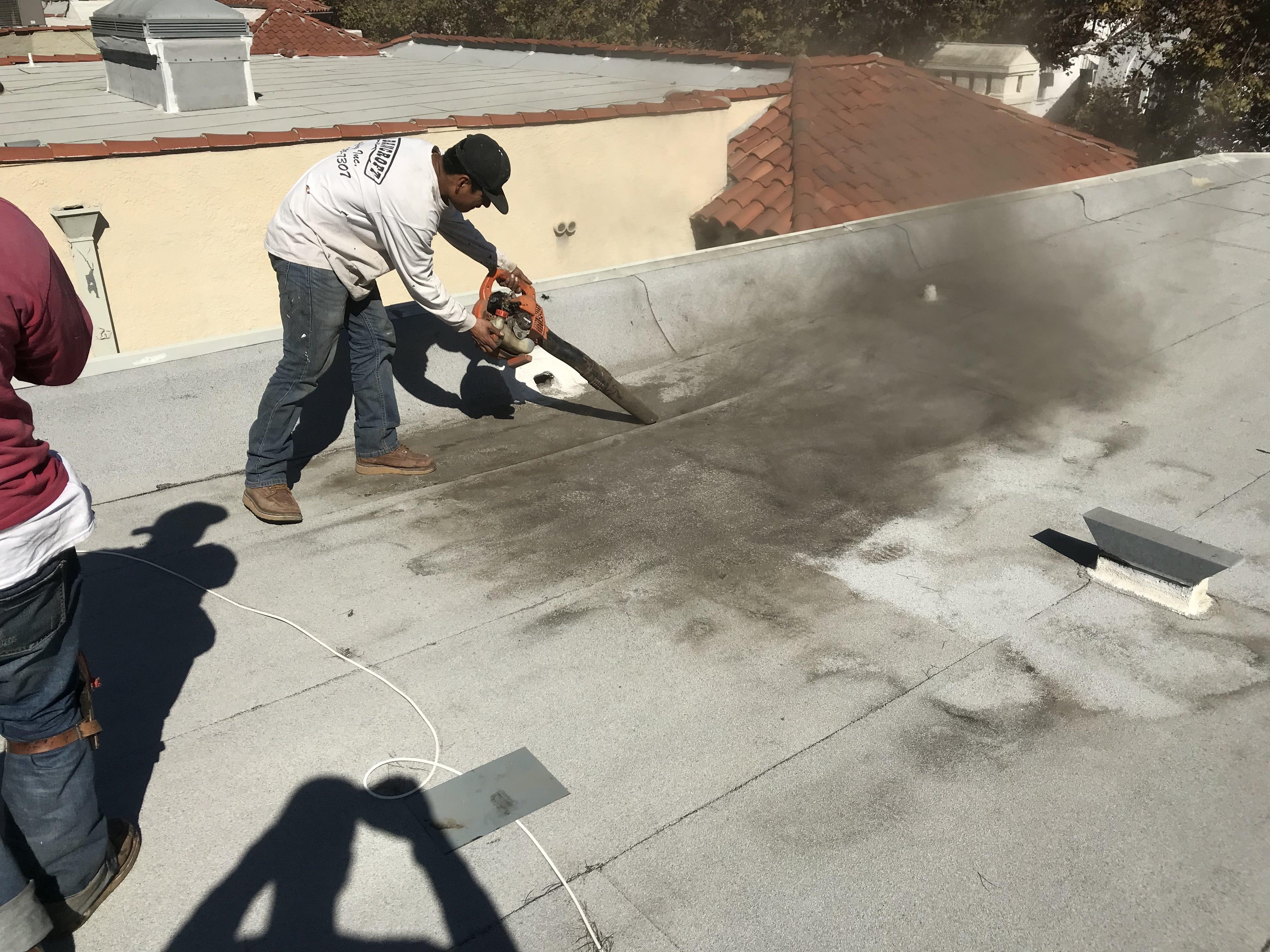 Los Angeles roof repair