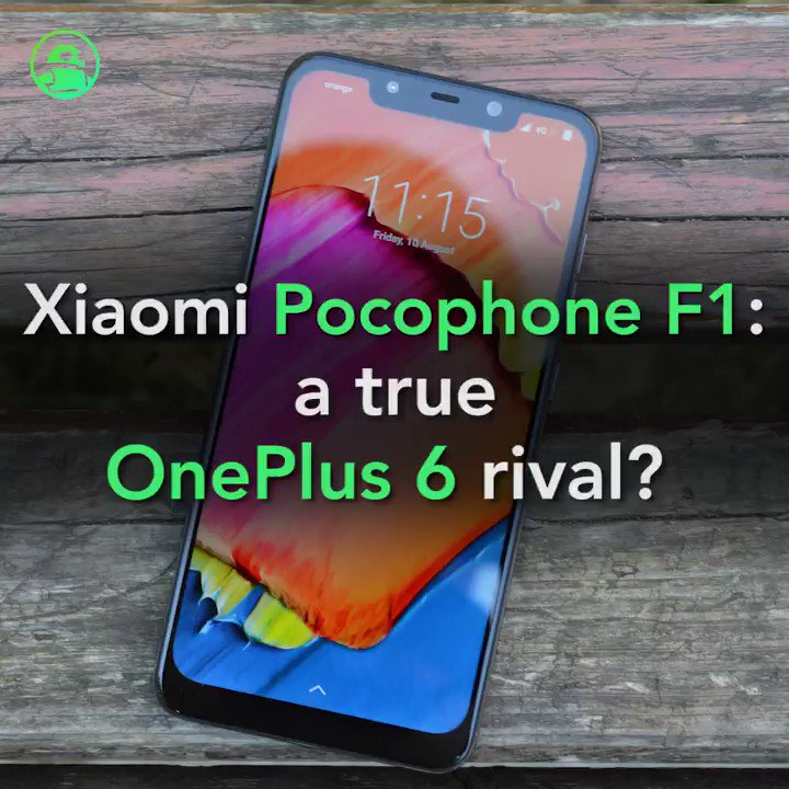 Image for the Tweet beginning: Xiaomi's Pocophone F1 takes aim