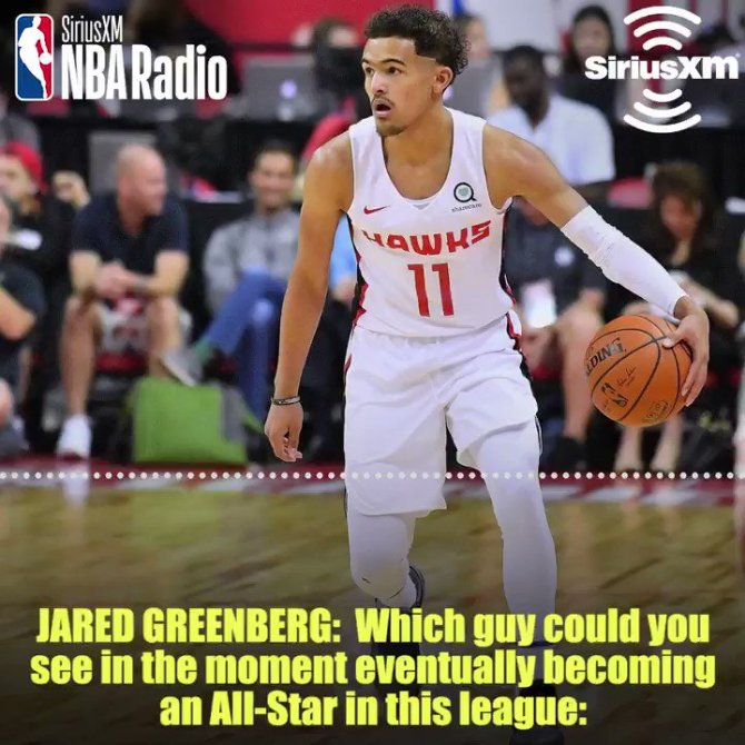 RT @SiriusXMNBA 🔊 @ATLHawks Guard @JLin7 compares his former teammate @StephenCurry30 to his current teammate @TheTraeYoung   In case you missed any of our @ATLHawks preview show listen to it on demand https://t.co/3ZPxZXHMYp