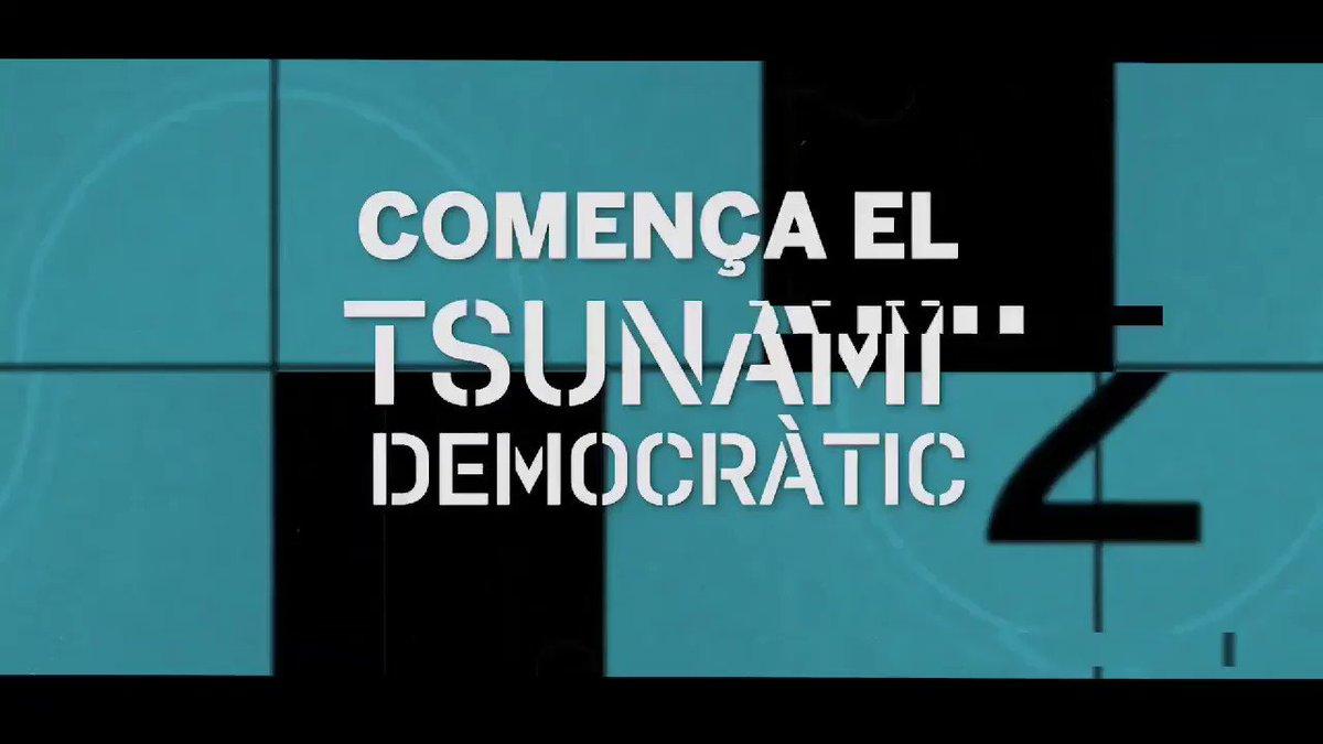 Tsunami Democràtic on Twitter