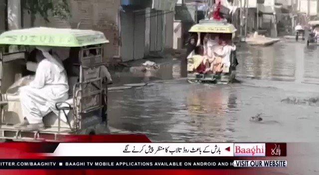 Image for the Tweet beginning: شجاع آباد سیوریج کے ناقص