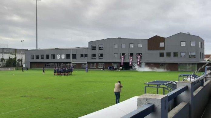 Exceptionnel de voir cette vidéo de l'entraînement de l'@UBBrugby ❤️ Ce club a de très belles valeurs et une très belle cohésion 👏  Ça va forcément booster les joueurs 👍 #BRIvUBB #ChallengeCup #IloveUBB