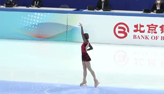 Image for the Tweet beginning: 中國香港選手亮相北京冬奧測試賽