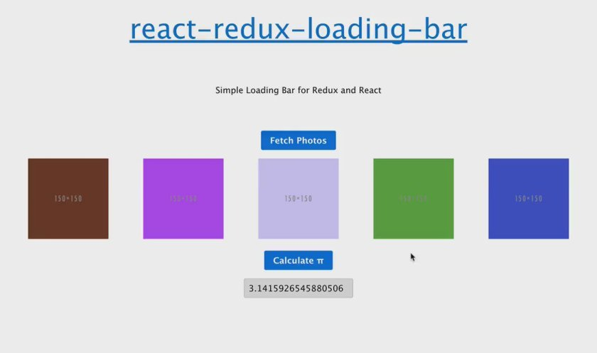 react-redux-loading-bar by @mironov: Middleware shows progress for redux actions .  #reactjs