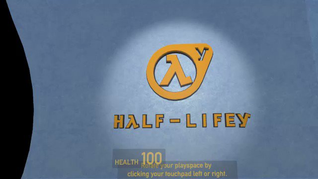 #HalfLifey, my #epistle3jam #VR entry is submitted! :D  #Gamedev