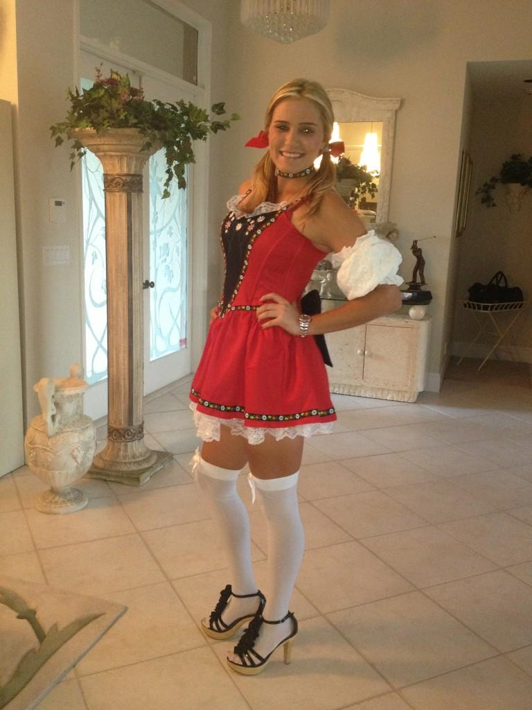 Lexi Thompson on Twitter My Halloween costume as a beer