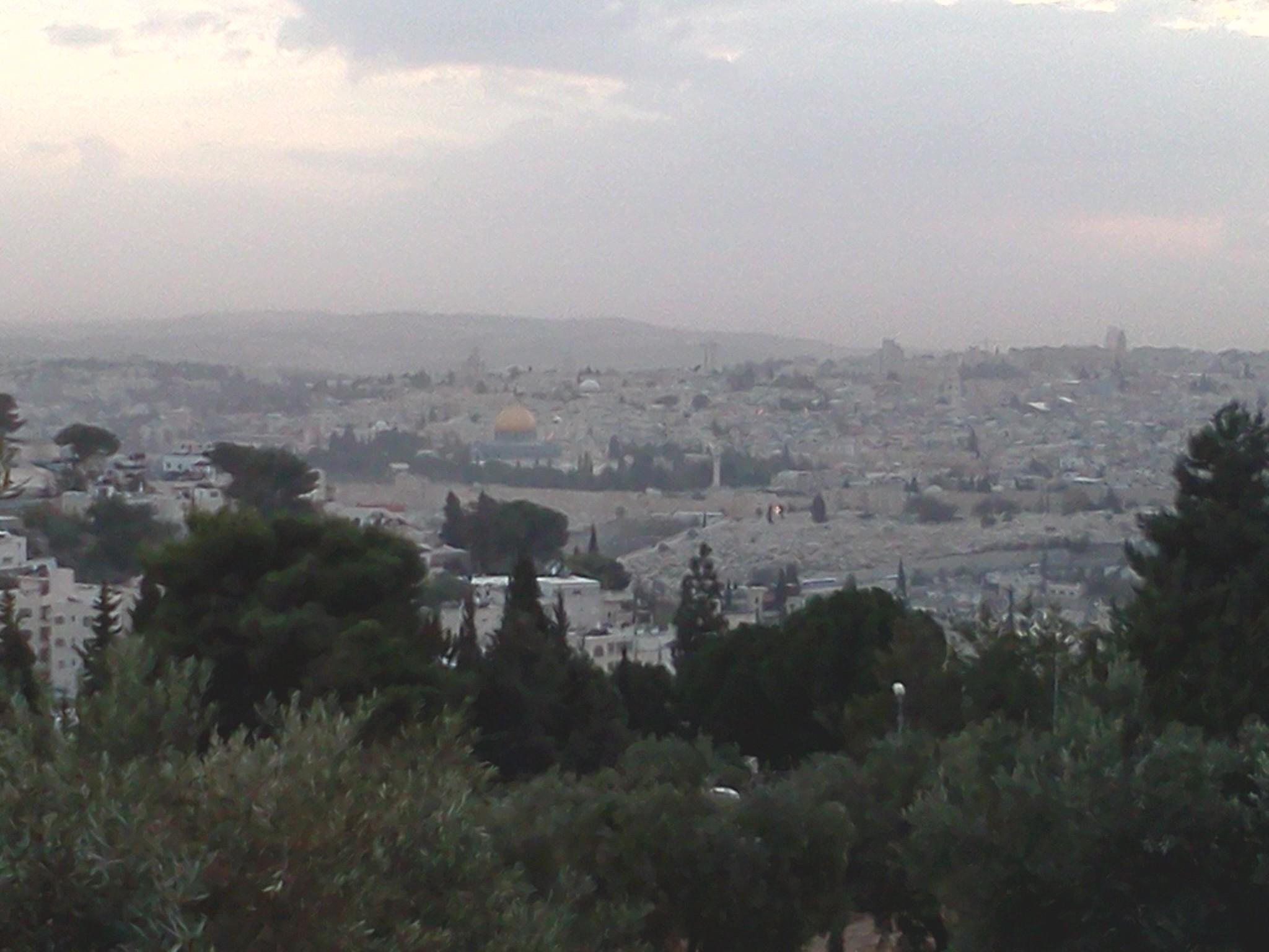 View of the Old City from our Housing