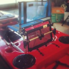 Larry Chair Kayak Sunchaser Floating Lounge Tacklewebs On Twitter Custom Red 16x12 Looking Good