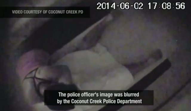Graphic Video Hidden Camera Records Coconut Creek Cop Receiving Illegal Massage Fired