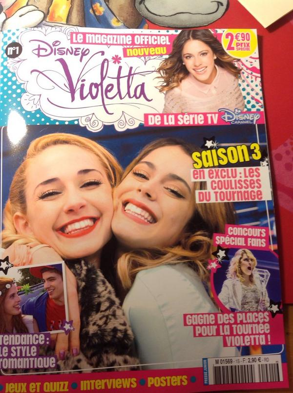 Jeu De Violetta Saison 3 : violetta, saison, Cuarentini, Twitter:, Feliz!!!❤️, Comprado, Premiera, Revista, Oficial, #Violetta, Francia!!🇫🇷😍😘, @TiniStoessel, #violetta4, 👑💫, Http://t.co/gDe247fALG