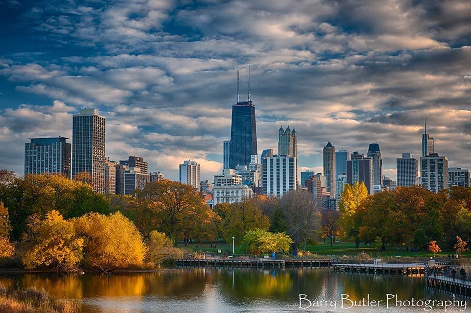 Fall In Chicago Wallpaper Barry Butler On Twitter Quot A View Of Chicago S Autumn In