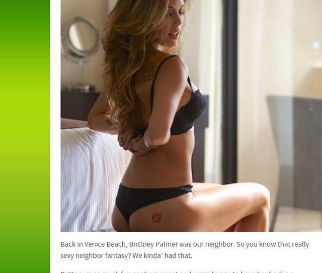 Brittney Palmer On Twitter Sexy Neighbor Fantasy Ha Thanks Thechive Check Out T Co Ytoopyushr For New Pics And T Co Amwzatlon0