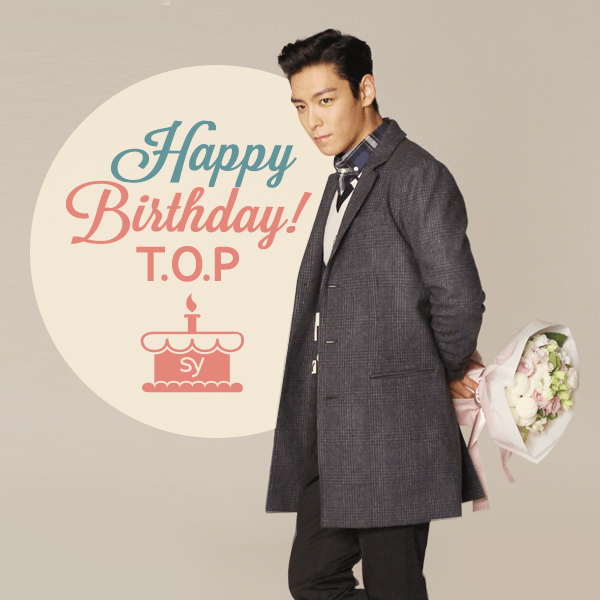 Yg Entertainment Wishes Top A Happy Birthday!  Allkpopcom
