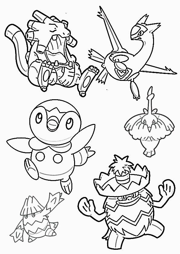 Pokemon Kleurplaten Eevee Evolutions.Eevee Evolution Coloring Pages Auto Electrical Wiring Diagram