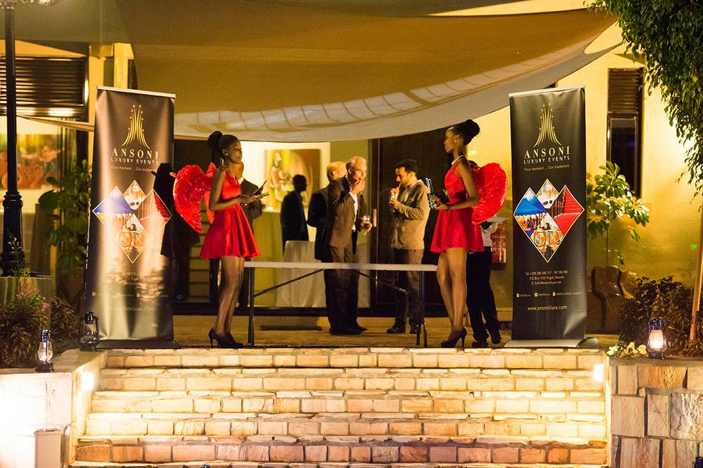 Ansoni Luxury Events On Twitter Our Launch At Rubangura