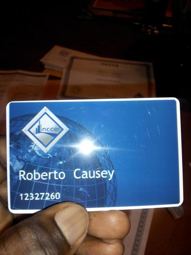 Nccer Certification Card Letterjdi