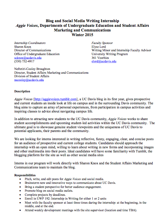 uc davis nursing resume sample