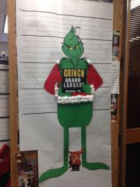 Grinch Christmas Door Decorating Contest