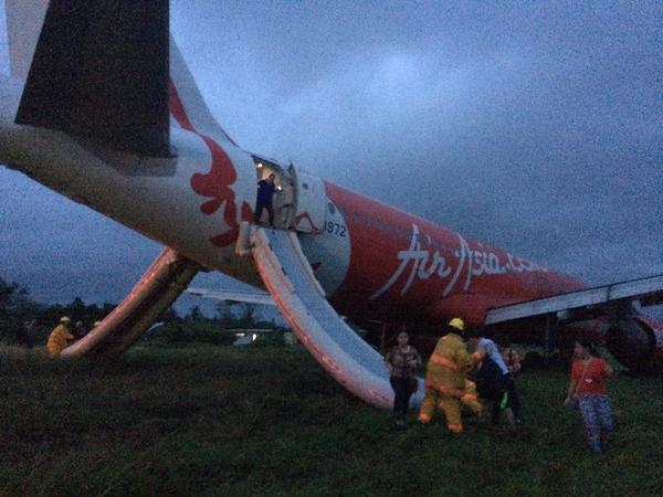 airasia a320 flight z2272 manilakalibo overshot runway