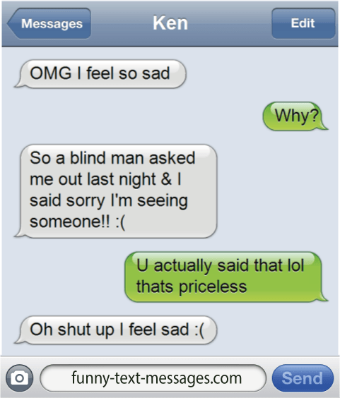 funny text messages haha