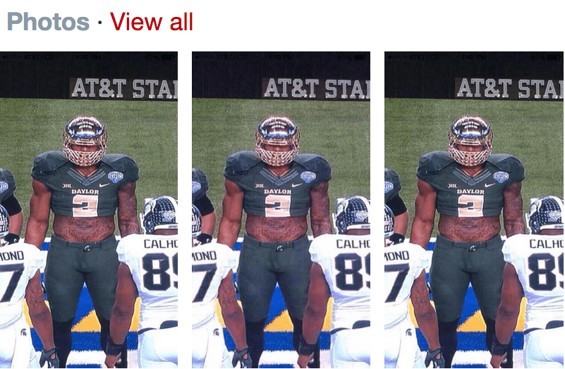 Yesterday Twitter was obsessed with stolen Shawn Oakman