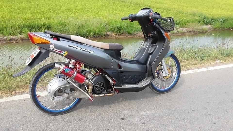 Contoh Modifikasi Motor Nouvo Lele Ala  Ala Thailook