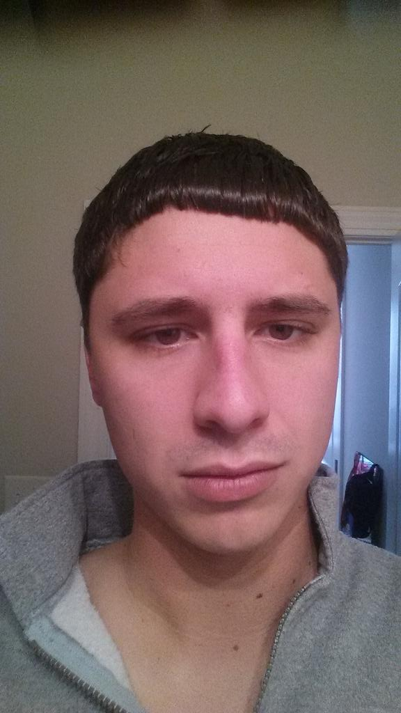 "Ethan E On Twitter ""Worst Haircut Ever GreatClips Never Going"