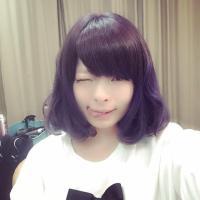Kyary Pamyu Pamyu's latest instagram: 紫アッシュボブにしました。前髪伸ばしてる @pamyurin #KPP きゃりーぱみゅぱみゅ http://t.co/4kqKt5NWDi HarajukuBoutiqu