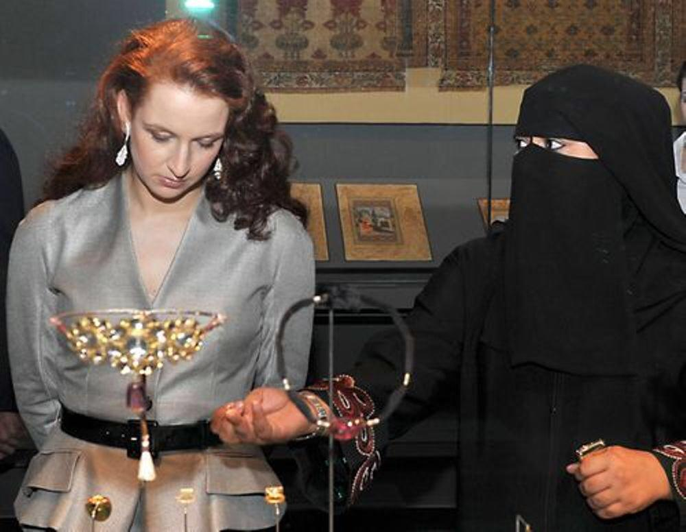 La princesse Lala Salma épouse de Mohamed VI refuse de porter le voile au Qatar: Message fort adressé aux intégristes http://t.co/QfyKUWBOaW