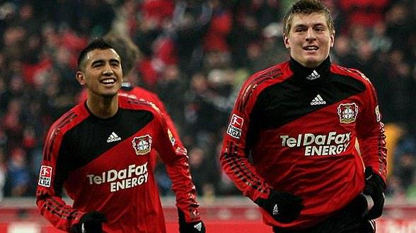 Image result for Toni Kroos and Arturo Vidal