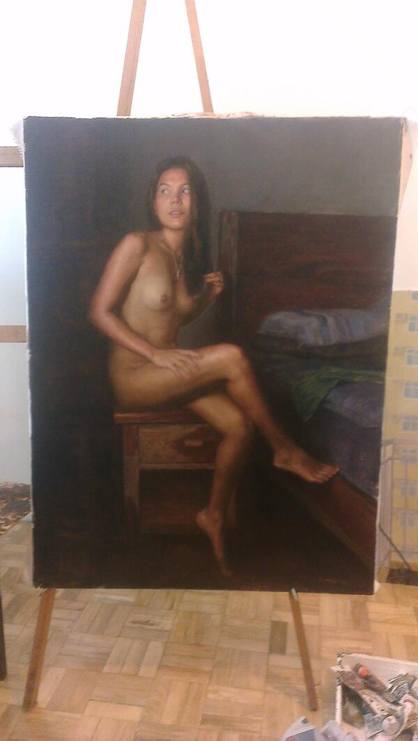 Kobe Bryant Nude Pics : bryant, RONILO, ABAYAN, Twitter:, PAINTING, CANVASS, @kobebryant, Should, Paint, Relax, Manna., @KingJames, Http://t.co/DhdssQjYFb