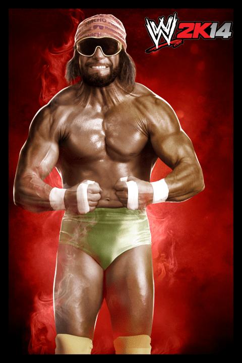 WWE 2K14 Portraits Steve Austin The Rock HBK Cena And More