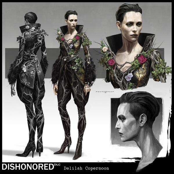 dishonored on twitter delilah