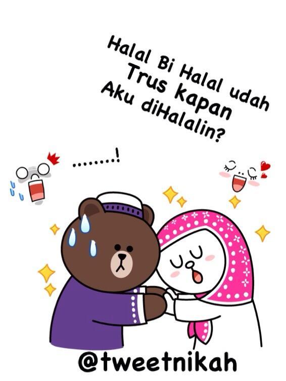 Halal Bihalal Kartun : halal, bihalal, kartun, χρήστης, @TweetNikah, στο, Twitter:,